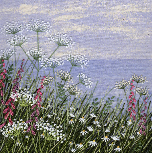Wildflowers by the Sea