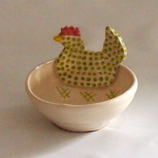 Hen Tiny Bowl