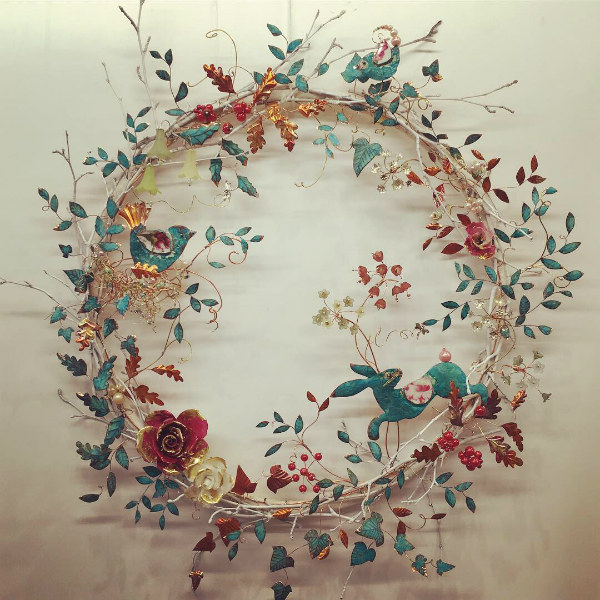 Large Exhibition Wreath